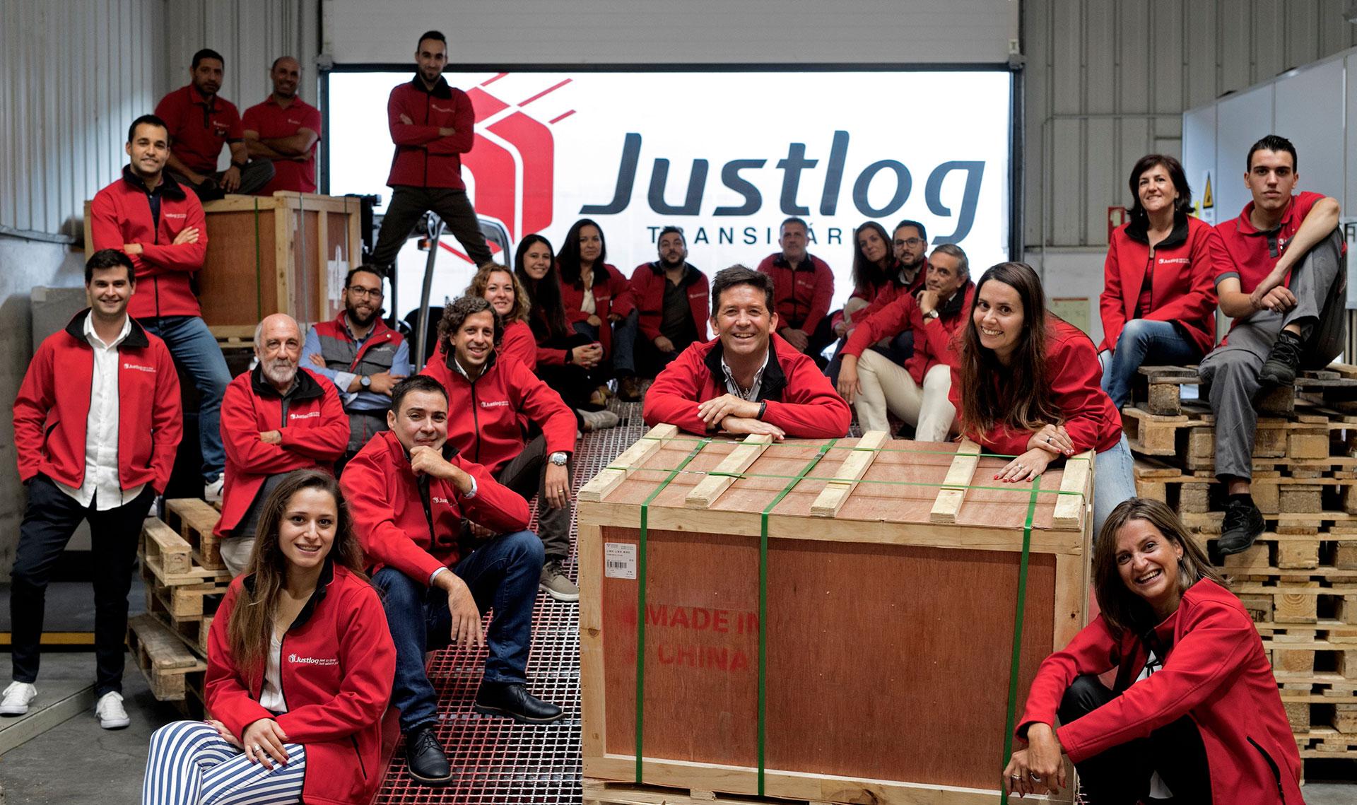 A Nossa Equipa | Our Team - JUSTLOG